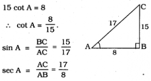 10th Class Maths Trigonometry Exercise 11.1 KSEEB
