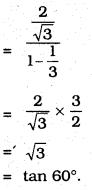10th Class Maths Trigonometry 11.2 KSEEB Solutions