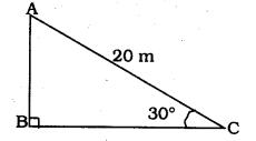 KSEEB SSLC Class 10 Maths Solutions Chapter 12 Some Applications of Trigonometry Ex 12.1 Q 1