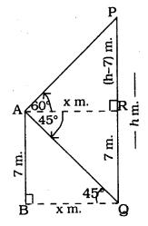 KSEEB SSLC Class 10 Maths Solutions Chapter 12 Some Applications of Trigonometry Ex 12.1 Q 12