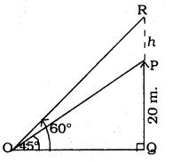 KSEEB SSLC Class 10 Maths Solutions Chapter 12 Some Applications of Trigonometry Ex 12.1 Q 7