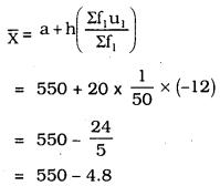 KSEEB SSLC Class 10 Maths Solutions Chapter 13 Statistics Ex 13.1 Q 2.2