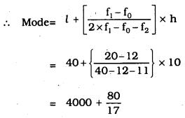 KSEEB SSLC Class 10 Maths Solutions Chapter 13 Statistics Ex 13.2 Q 6.1