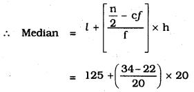 KSEEB SSLC Class 10 Maths Solutions Chapter 13 Statistics Ex 13.3 Q 1.2