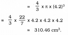 KSEEB SSLC Class 10 Maths Solutions Chapter 15 Surface Areas and Volumes Ex 15.3 Q 1