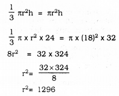 KSEEB SSLC Class 10 Maths Solutions Chapter 15 Surface Areas and Volumes Ex 15.3 Q 7