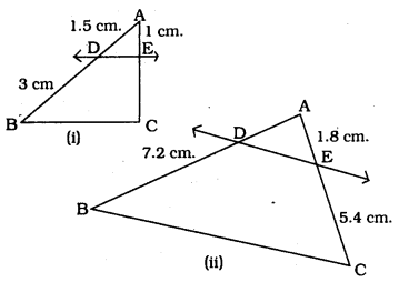 Exercise 2.2 Class 10 Maths Triangles KSEEB Solutions