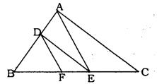 Triangles Class 10 Solutions KSEEB