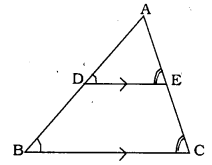 Triangles Class 10 Exercise 2.2 Solutions KSEEB