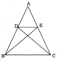 Triangles Class 10 KSEEB Solutions