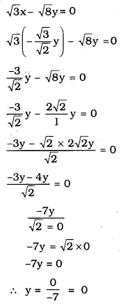 KSEEB SSLC Class 10 Maths Solutions Chapter 3 Pair of Linear Equations in Two Variables Ex 3.3 1