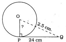 Circles Exercise 4.2 KSEEB Class 10