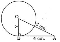 Circles Class 10 Exercise 4.2 KSEEB