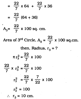 KSEEB SSLC Class 10 Maths Solutions Chapter 5 Areas Related to Circles Ex 5.1 1