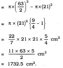 KSEEB SSLC Class 10 Maths Solutions Chapter 5 Areas Related to Circles Ex 5.1 5