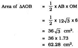 KSEEB SSLC Class 10 Maths Solutions Chapter 5 Areas Related to Circles Ex 5.2 16
