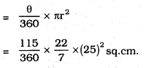 KSEEB SSLC Class 10 Maths Solutions Chapter 5 Areas Related to Circles Ex 5.2 25