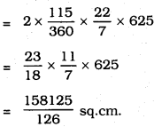 KSEEB SSLC Class 10 Maths Solutions Chapter 5 Areas Related to Circles Ex 5.2 26