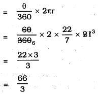 KSEEB SSLC Class 10 Maths Solutions Chapter 5 Areas Related to Circles Ex 5.2 8