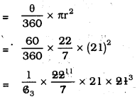 KSEEB SSLC Class 10 Maths Solutions Chapter 5 Areas Related to Circles Ex 5.2 9