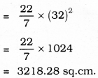 KSEEB SSLC Class 10 Maths Solutions Chapter 5 Areas Related to Circles Ex 5.3 13
