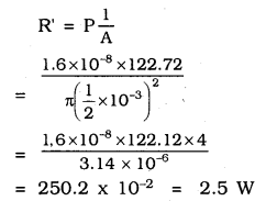 KSEEB SSLC Class 10 Science Solutions Chapter 12 Electricity Ex Q 6.1