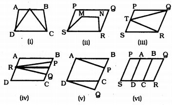 KSEEB Solutions for Class 9 Maths Chapter 11 Areas of Parallelograms and Triangles Ex 11.1 1