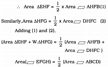 KSEEB Solutions for Class 9 Maths Chapter 11 Areas of Parallelograms and Triangles Ex 11.2 4