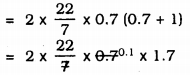 KSEEB Solutions for Class 9 Maths Chapter 13 Surface Area and Volumes Ex 13.2 Q 2.1