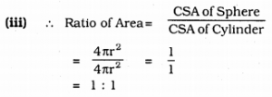KSEEB Solutions for Class 9 Maths Chapter 13 Surface Area and Volumes Ex 13.4 Q 9.1