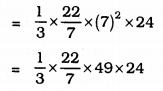 KSEEB Solutions for Class 9 Maths Chapter 13 Surface Area and Volumes Ex 13.7 Q 2.1