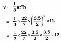 KSEEB Solutions for Class 9 Maths Chapter 13 Surface Area and Volumes Ex 13.7 Q 5.1