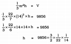KSEEB Solutions for Class 9 Maths Chapter 13 Surface Area and Volumes Ex 13.7 Q 6