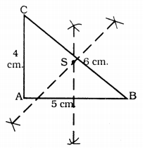 KSEEB Solutions for Class 9 Maths Chapter 5 Triangles Ex 5.5 1