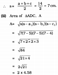 KSEEB Solutions for Class 9 Maths Chapter 8 Heron's Formula Ex 8.2 8