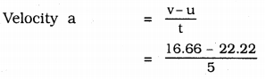 KSEEB Solutions For Class 9 Science Chapter 8 Motion