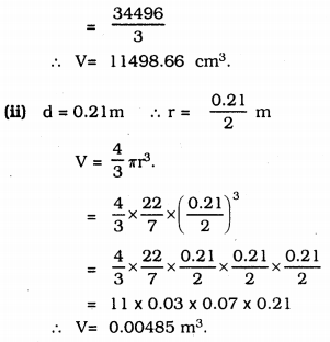 KSSEB Solutions for Class 9 Maths Chapter 13 Surface Areas and Volumes Ex 13.8 3