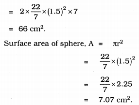 KSSEB Solutions for Class 9 Maths Chapter 13 Surface Areas and Volumes Ex 13.9 4