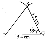 KSEEB Solutions for Class 8 Maths Chapter 12 Construction of Triangles Ex. 12.2 2