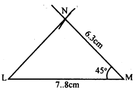 KSEEB Solutions for Class 8 Maths Chapter 12 Construction of Triangles Ex. 12.2 4