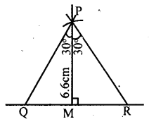 KSEEB Solutions for Class 8 Maths Chapter 12 Construction of Triangles Ex. 12.6 2