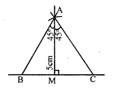 KSEEB Solutions for Class 8 Maths Chapter 12 Construction of Triangles Ex. 12.6 3