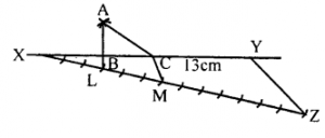 KSEEB Solutions for Class 8 Maths Chapter 12 Construction of Triangles Ex. 12.7 1