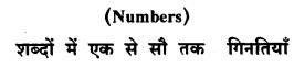 KSEEB Class 8 Hindi गिनतियाँ