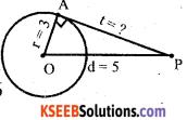 Karnataka SSLC Maths Model Question Paper 3 with Answers - 1