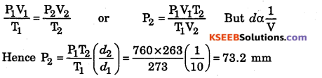 1st PUC Chemistry Question Bank Chapter 5 States of Matter - 13