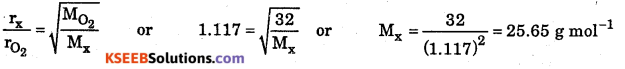 1st PUC Chemistry Question Bank Chapter 5 States of Matter - 16