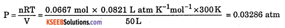 1st PUC Chemistry Question Bank Chapter 5 States of Matter - 60