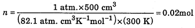 1st PUC Chemistry Question Bank Chapter 5 States of Matter - 8