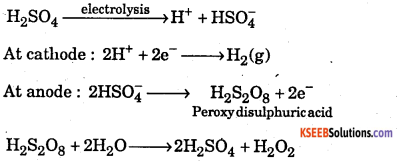 1st PUC Chemistry Question Bank Chapter 9 Hydrogen - 16